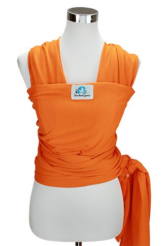 StorchenExpress Babytragetuch orange